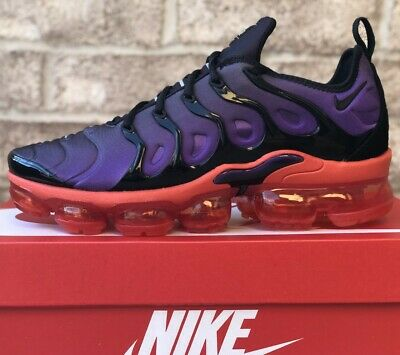 Nike Air Vapormax Plus Running Shoes 924453-500 Voltage Purple New Mens