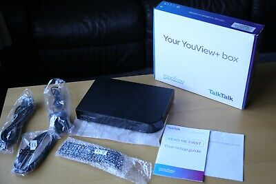 TalkTalk Youview DN372T HDTV Recorder and Catch Up Box (NETFLIX NOW-TV I-player)