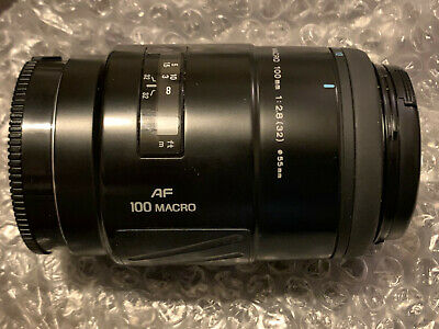MINT Minolta AF Macro 100mm f/2.8RS,perfect glass,very good cosmetics condition