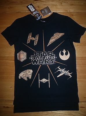BNWT NEXT BOYS 6 years BLACK TOP/T-SHIRT STAR WARS!