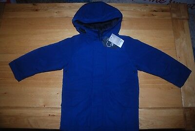 BNWT NEXT BOYS 4 years BLUE JACKET WITH HOOD*ZIP *SPRING/AUTUMN *SCHOOL!