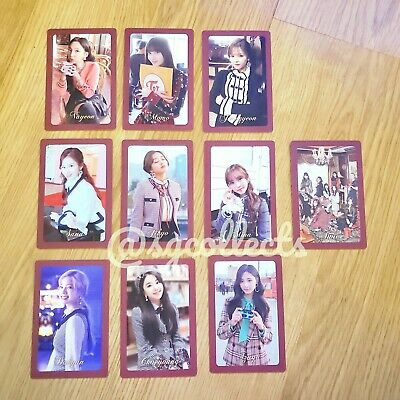 TWICE Official THE YEAR OF YES Preorder Photocard VER A MOMO TZUYU SANA NAYEON