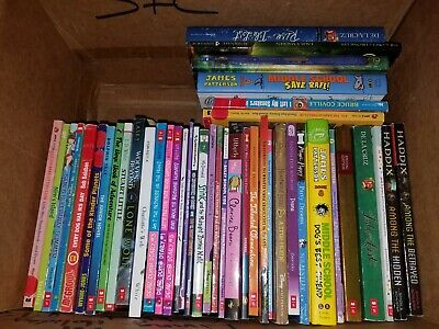 Lot of 40 Chapter Books for Boys & Girls Youth Early Reader Childrens