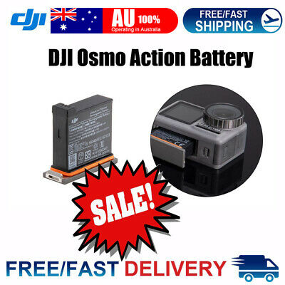 Genuine DJI Osmo Action Battery 1300mAh with Battery Case Charaging Portable AU