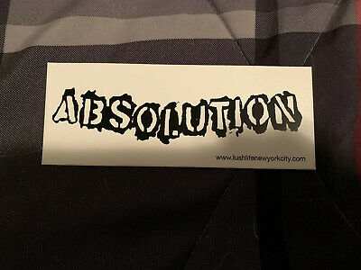 NeW Absolution NYHC Band Sticker Straight Edge sXe B9 Hardcore Punk Rev Cro Mags