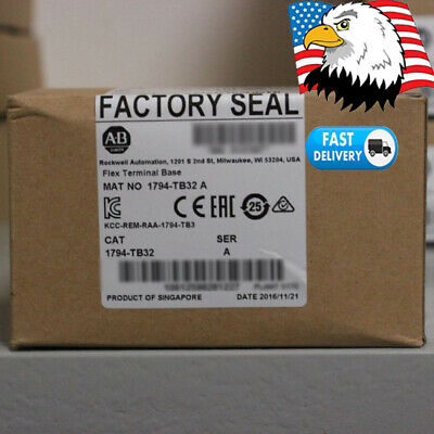 USA Allen-Bradley FLEX I/O 1794-TB32 Terminal Base 32 Point Modules,Cage Clamp