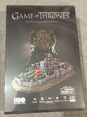 GAME OF THRONES WINTERFELL 3D Puzzle Large 430pc
