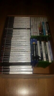 Over 45 Games All Work Some Sealed (Ps4/Ps2/Xbox/Xbox360/Psp