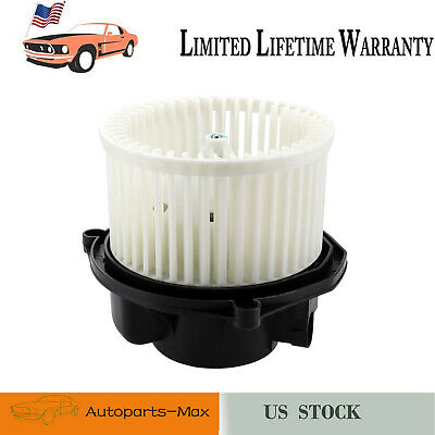 Cavalier Grand Am Front Heater AC A//C Condenser Blower Motor Assembly w//Fan Cage