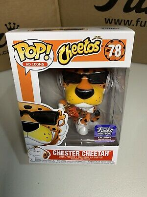 Funko Pop Ad Icons Cheetos Chester Cheetah Hollywood Store Exclusive 78 Cat