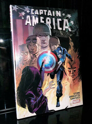 CAPTAIN AMERICA FOREVER ALLIES HC Hardcover $24.99srp Stern Weeks NEW SEALED