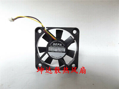 1pcs  SEPA MFD52A-05A 5V 0.14A 3-wire cooling fan