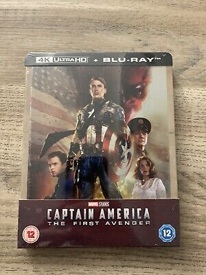 Steelbook Captain America The First Avenger 4K Ultra Hd Zavvi Exclusive