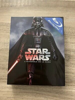Coffret Bluray Star Wars Etat Neuf