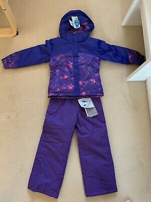 Mountain Warehouse Girls Ski Suit / Snow Suit Age 5-6 New With Tags