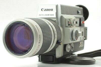 <AS IS, ALL WORKS> Canon Auto Zoom 1014 Electronic 8mm Movie Camera Japan 2177