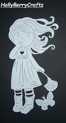 """Tattered Lace Children And Girl Die Cut Toppers ~ """"Buttercup"""""""