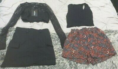 Bundle Joblot Ladies Clothing Size 4 Pretty Little Thing Kylie Boohoo 4 Items
