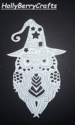 """Tattered Lace Whimsical, Halloween Die Cut Toppers ~ """"Merlin"""""""