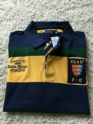 Genuine Men's Polo Ralph Lauren Rugby/Polo Short Sleeved Shirt - Size 3Xb - Bnwt