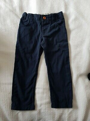 Boy's Smart elasticated Waist Trousers Age 2-3 Years by MARKS & SPENCER