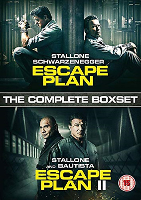 Escape Plan Boxset [DVD], Good DVD, ,
