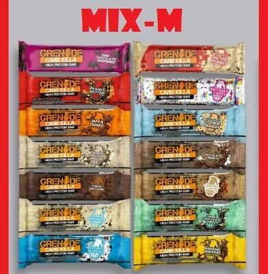 Grenade Carb Killa high protein bars mix x12 - Choose the Flavors