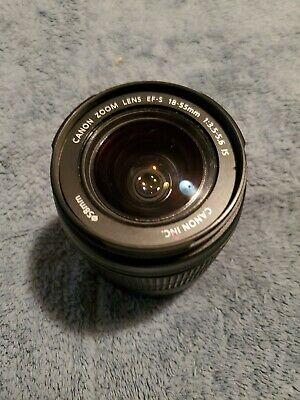 Canon EFS 18-55mm Image Stabilizer camera lens