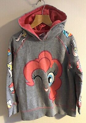 Matalan Size 5-6 Years Grey My Little Pony hoodie