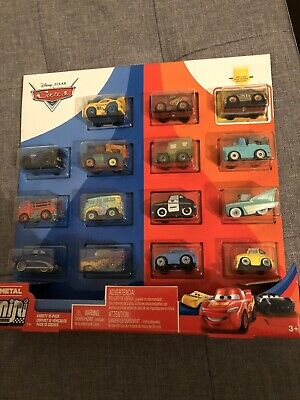 Disney Pixar Cars Mini Racers Variety Set Gold Chick Hicks