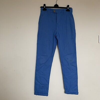 Next Boys Blue Chino Trousers Age 12