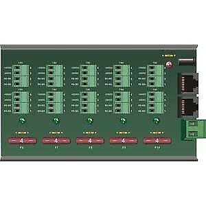 12/24V DC Power Distribution panel for 10 motors #1870194