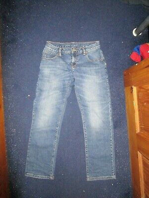 boys boy age 10-11 years blue jeans hardly worn gap