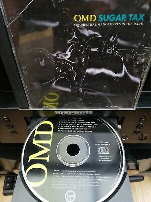 Orchestral Manoeuvres In The Dark  OMD - Sugar Tax (1991 CD)