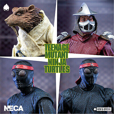 NECA - TMNT Wave 2 1990 Movie 4 Pack Deal [IN STOCK] • NEW & OFFICIAL •