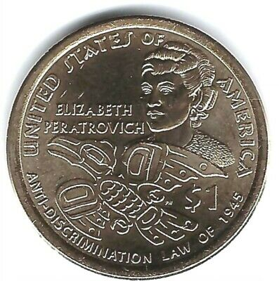 2020-P Philadelphia $1 Brilliant Uncirculated Native American Dollar Coin!
