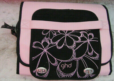 [BEAUTY] GHD Limited Edition Pink Flat-Iron Heat-Styling Travel Bag