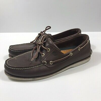 MENS TIMBERLAND BLACK VentianTidelands 2 Eye Leather Boat