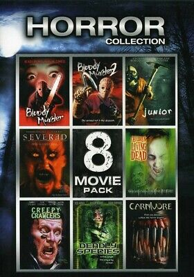 Horror Collection: 8 Movie Pack, Vol. 2 [2 Discs] (DVD Used Very Good) WS
