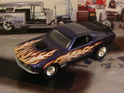 Super Flame 1970 70 Ford Mustang Mach-1 Muscle Car 1/64 Limited Edition L