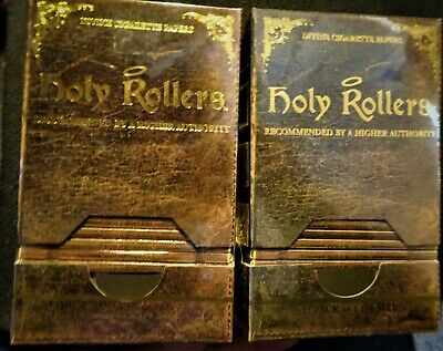 2 Holy Rollers Holy Roller Club Vintage Style Cigarette Rolling Papers RARE BOX