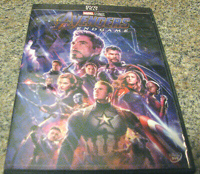 Avengers: Endgame (DVD 2019) IN STOCK AND READY TO SHIP~