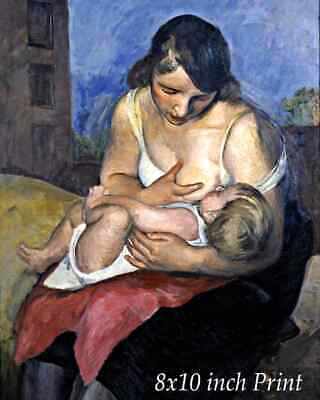 Maternity by Jean Marchand - Mother Baby Child Breastfeeding 8x10 Print 2993