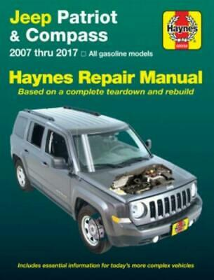 Jeep Patriot & Kompass 2007-2017 Haynes Manuell 50050 Neu