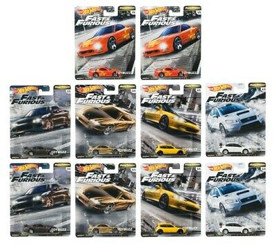 Hot Wheels FAST & FURIOUS 2020 FAST TUNERS Factory Sealed Case F Premium COOL!
