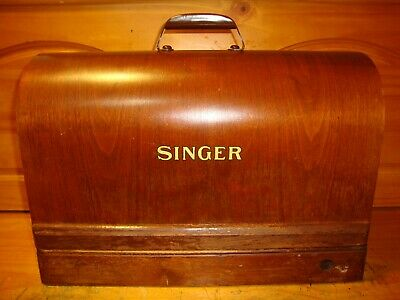 Singer Bentwood Case for Sewing Machines Model 128, 28