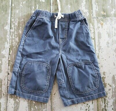 MINI BODEN Double knee Chino Blue Skate Shorts Boys size 4
