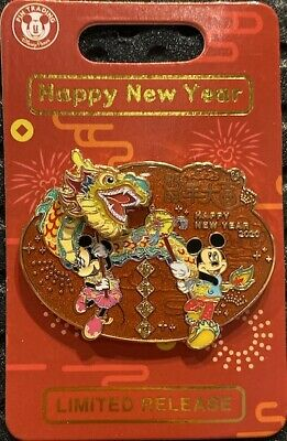 Disneyland Chinese Lunar New Year 2020 Pin New Mickey Minnie Mouse Rat Disney