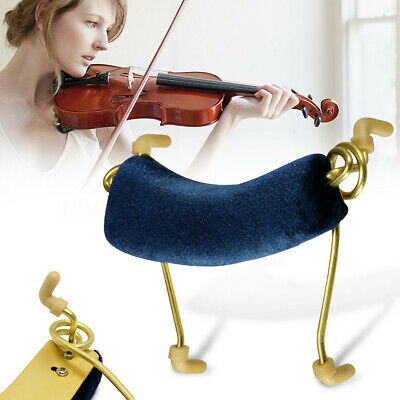 Blue Professional Violin Shoulder Rest Pad Support Size 1/2 Comfort Stability X