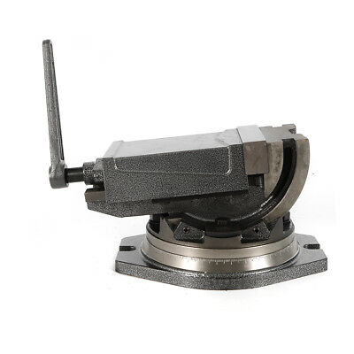 5 Inch Swivel Base & Angle Tilting 2 Way Clamp Vise for Milling Drilling Machine